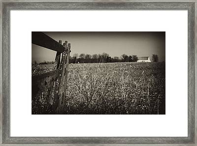 Way Out Here Framed Print by Off The Beaten Path Photography - Andrew Alexander