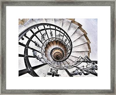 Way To Hell? Framed Print