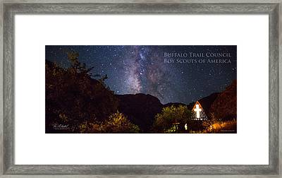 Way To The Chapel - Pano Framed Print