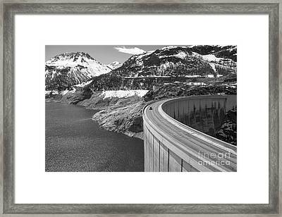 Way Up High. Framed Print