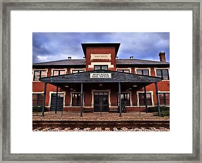 Framed Print featuring the photograph Waycross Depot by Laura Ragland