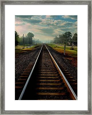 Waycross Framed Print by Laura Ragland
