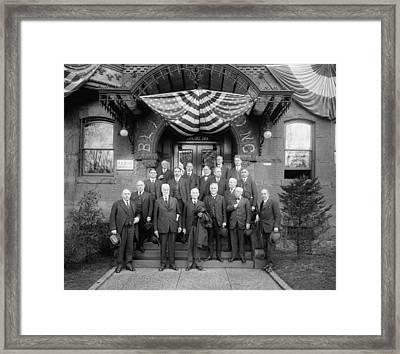 Wayne Bidwell Wheeler (1869-1927) Framed Print