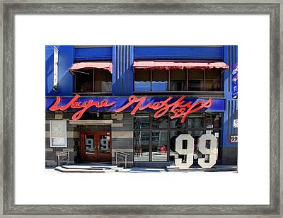 Wayne Gretzky Framed Print by Andrew Fare