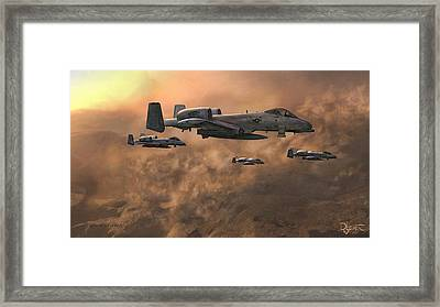 Framed Print featuring the painting Waypoint Alpha by Dave Luebbert
