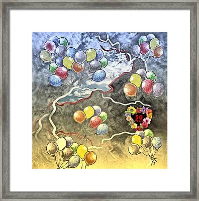 Ways-50 Years Framed Print by Manfred Lutzius