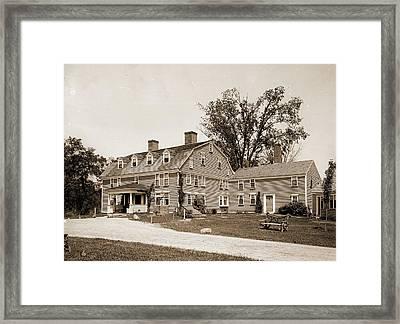 Wayside Inn, Sudbury, Mass, The, Wayside Inn Sudbury Framed Print
