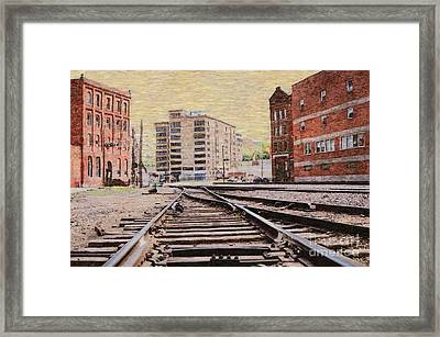 Wb - West Bottoms - Kcmo Framed Print by Liane Wright