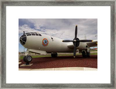 Wb29 57th Weather Recon Framed Print by Ricky Barnard