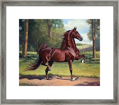 Wc Merchant Prince Framed Print by Jeanne Newton Schoborg