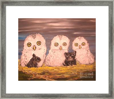 We Adopted Framed Print by Rachel Carmichael
