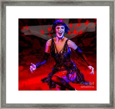 We All Need Entertainment Framed Print by Algirdas Lukas