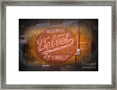 We All Scream Framed Print by The Stone Age