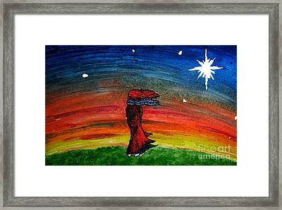 We Are All Made Of Stars Framed Print by Elizabeth Garton