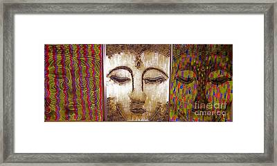 We Are All One Framed Print by Aixa Rios