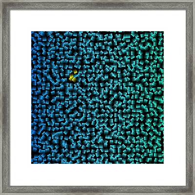 We Are Different Framed Print by Karl Jones