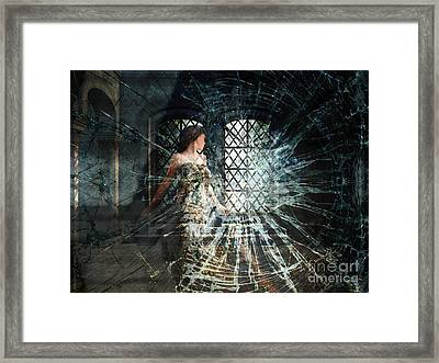 We Are Glass Framed Print by Lianne Schneider
