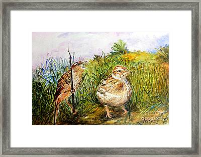 We Are Lost  Framed Print