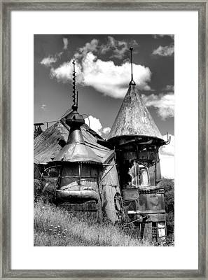We Are Not In Kansas Anymore II Bw Framed Print