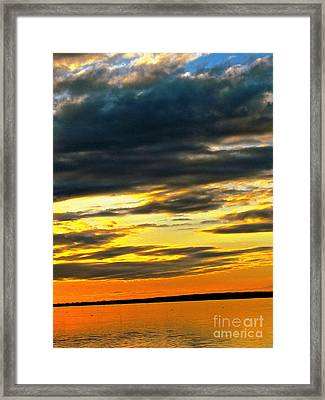 We Are One Love Framed Print by Q's House of Art ArtandFinePhotography