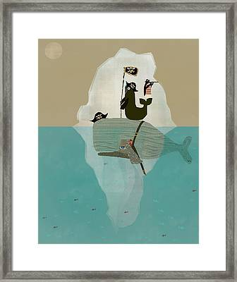 We Are Pirates Framed Print by Bri B