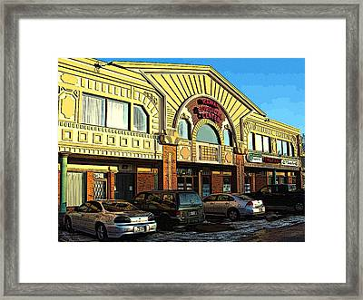 We Beat Any Competition Framed Print by MJ Olsen