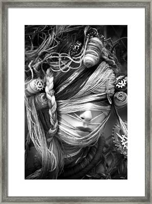 We Can All Be Twisted In Our Own Ways Framed Print by Jez C Self