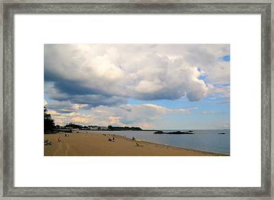 We Can Be Kind Framed Print by Diana Angstadt