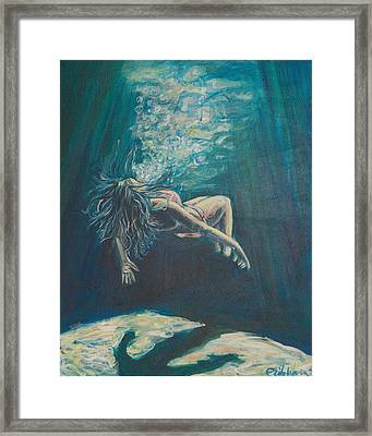 We Cease To See Framed Print