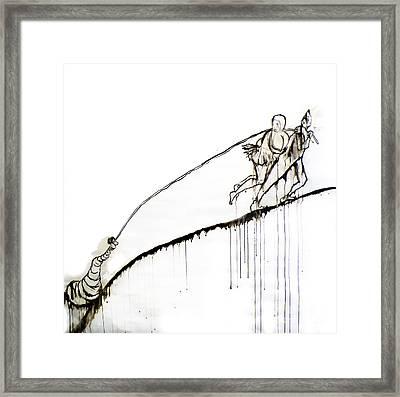 We Dragged Framed Print by Jain McKay