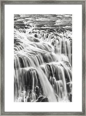 We Fall Framed Print