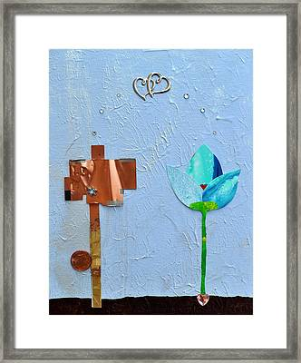 We Found Love Framed Print