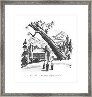 We Like It A Lot Framed Print by Robert J. Day