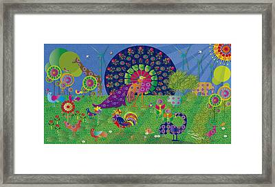 We Live In Harmony - Limited Edition 2 Of 30 Framed Print by Gabriela Delgado