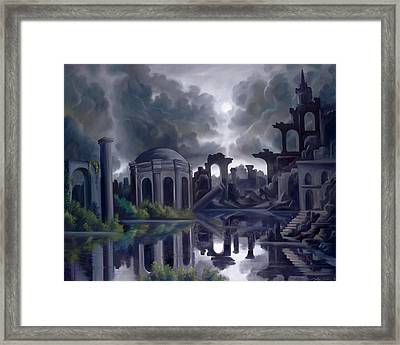We Lost Our Empire A Long Time Ago Framed Print by James Christopher Hill