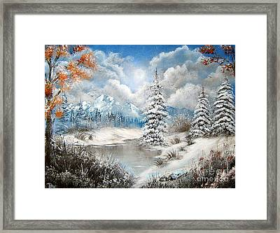 We Lost The Road Framed Print by Patrice Torrillo