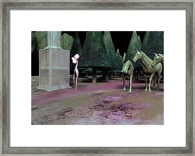 We Remember Framed Print by Gallery Nex