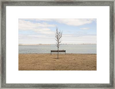 We Stand Together Framed Print by Eugene Bergeron