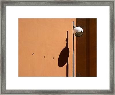 We Walk On The Street Of Dreams.. Framed Print