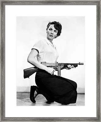 We Were Strangers, Jennifer Jones, 1949 Framed Print by Everett
