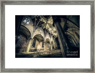 We Will Tear Down The Gods Framed Print by CM Goodenbury