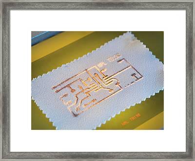 Wearable Electronics Framed Print