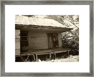 Weary And Worn Framed Print by Nina Fosdick