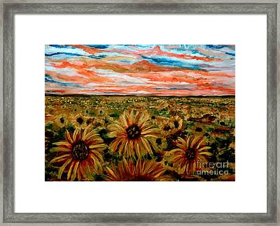 Weary Of Time Framed Print by Lori  Lovetere