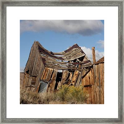 Weather And Time Framed Print by Art Block Collections