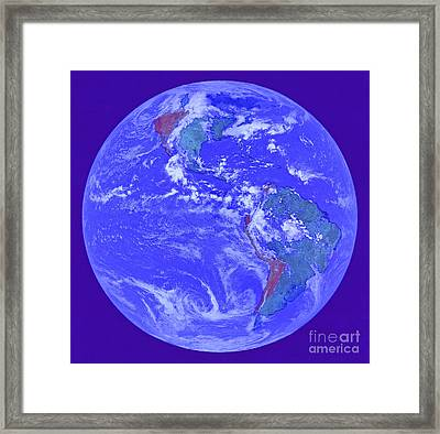 Weather By Jrr Framed Print by First Star Art