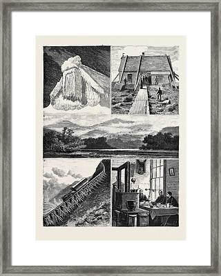 Weather Forecasting In The United States 1 Framed Print by American School