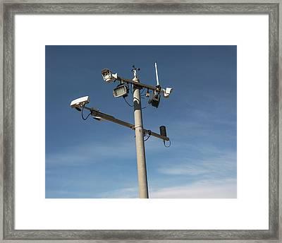 Weather Station Framed Print