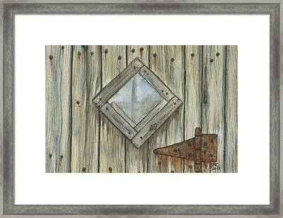 Weathered #1 Framed Print