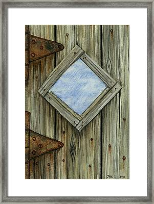 Weathered #2 Framed Print